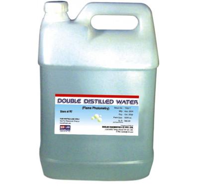 DISTILLED WATER    (Biochemistry Grade)