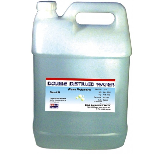 DISTILLED WATER    (Biochemistry Grade)