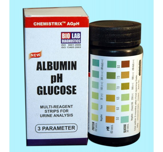 CHEMISTRIX - AGpH (Alb, Glucose, pH)