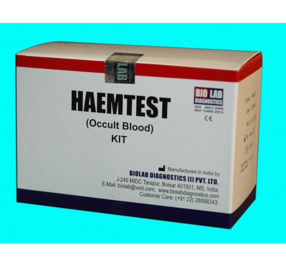 HEAMTEST (For Occult Blood with positive & negative control)