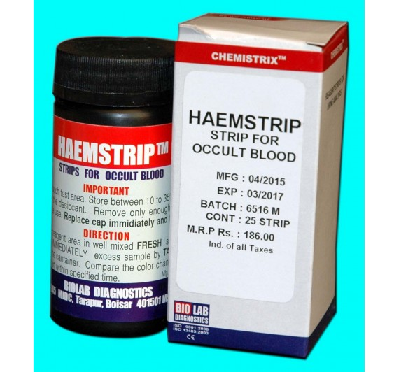 HEAMSTRIPS (Occult Blood Strips)
