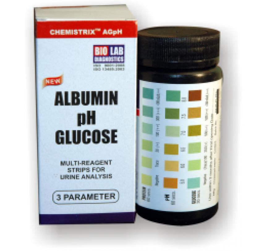 Urine Test Strips for Albumin and Glucose | Bio Lab Diagnostics