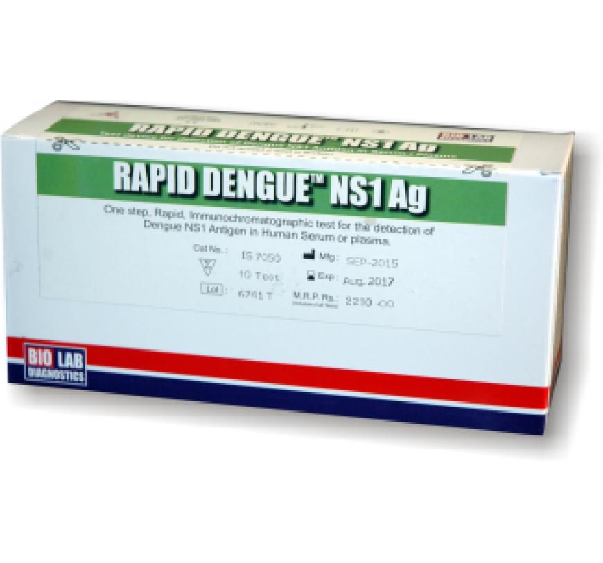 Dengue Rapid Test Kit Online in India | Bio Lab Diagnostics