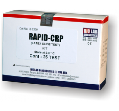RAPID CRP  (Latex Slide Test)