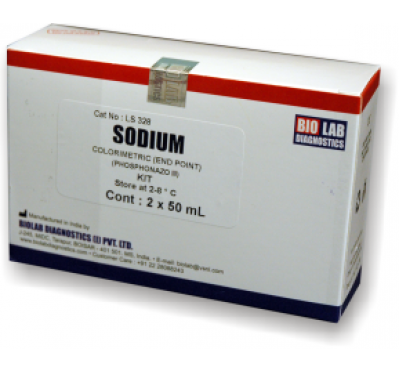 SODIUM (Phosphonazo III) New   (Liquistat)