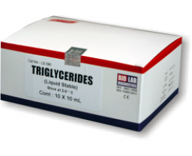 TRIGLYCERIDES (Enz. End Point) (Liquistat)