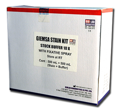 GEIMSA STAIN KIT    (With Buffer  10X & Easyfix Spray)