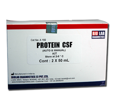 CSF Protein (Auto & Manual useful  for Urine micro proteins)