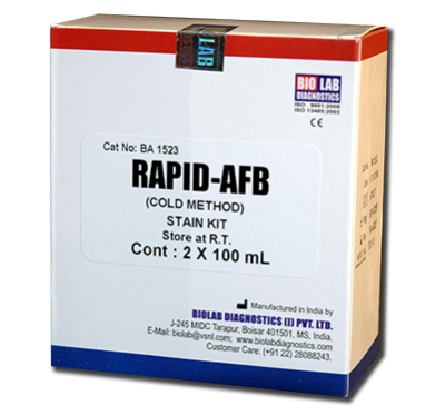 RAPID AFB  STAIN KIT (Cold Method))