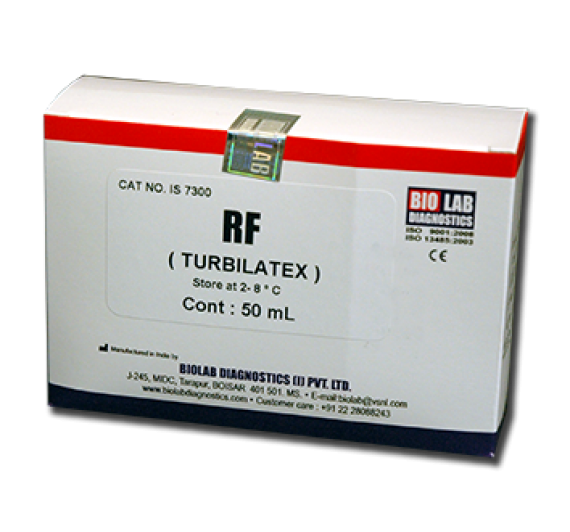 RF TURBILATEX (Rheumtoid Factor) Quantitative