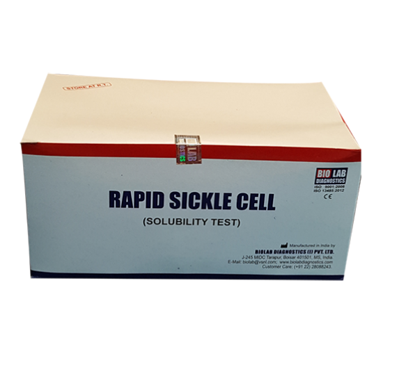 RAPID SICKLE CELL HbS New (Solubility Test)   (Liquistat) with Accessories