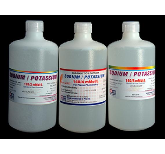 Electrolyte (Na+,K+,Cl+) (Liquistat)   (Auto Colorimetric) New