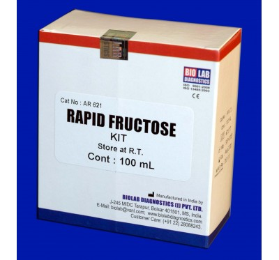 RAPID FRUCTOSE KIT    (With Positive Control)