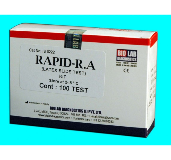 RAPID RA (Latex Slide Test)
