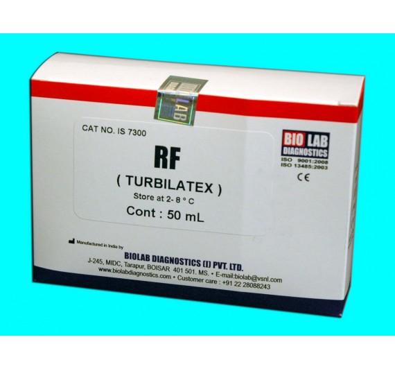 RF TURBILATEX (Rheumtoid Factor) Quantitative
