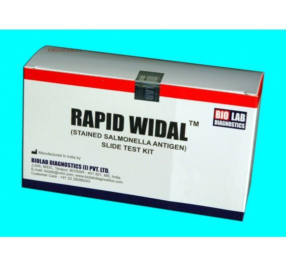 RAPID WIDAL  (O, & H) Slide Test