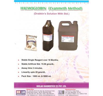 HAEMOGLOBIN STD (Cynmeth)