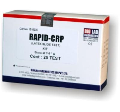 RAPID CRP  (Latex Slide Test)
