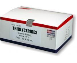 TRIGLYCERIDES (Enz. End Point) (Liquistat)