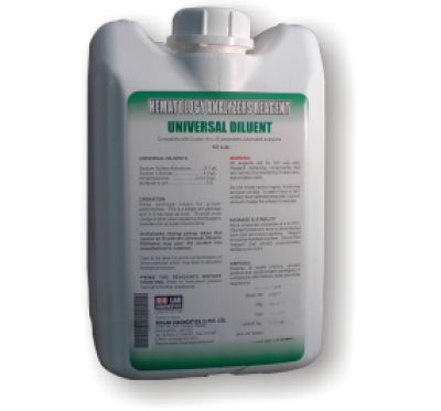 UNIVERSAL DILUENT (Compatible with All 3 Parts 18-23 Parameter Hematology Counter)